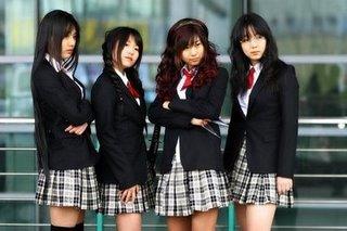 uniforme chica