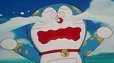 doraemon crying